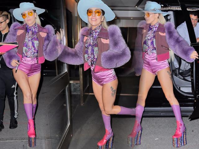 FOTOS HQ: Lady Gaga por las calles de Nueva York