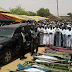 Photos From The Burial Ceremony Of 10 Family Members Of A Lawmaker