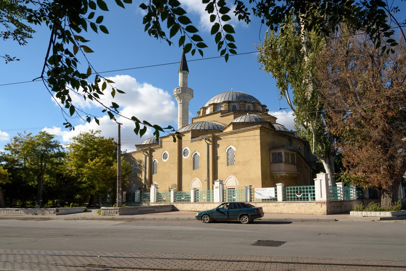 Мечеть Джума-Джами. Евпатория. Крым.