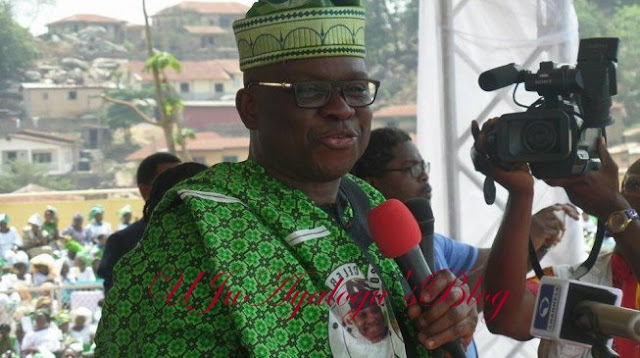 Fayose: I will not contest again — not even for senate