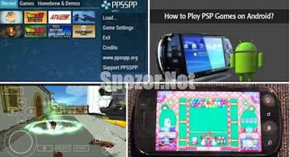 Cara bermain PSP di Android memakai Emulator PPSSP
