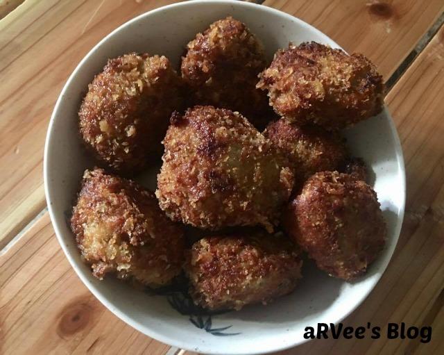 Breaded Sardines Meatballs