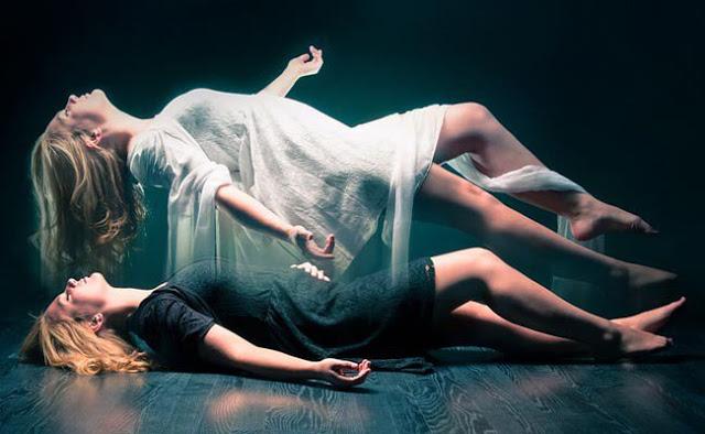 exista numeroase marturii si dovezi grafice ale separarii sufletului de corpul fizic in momentul mortii