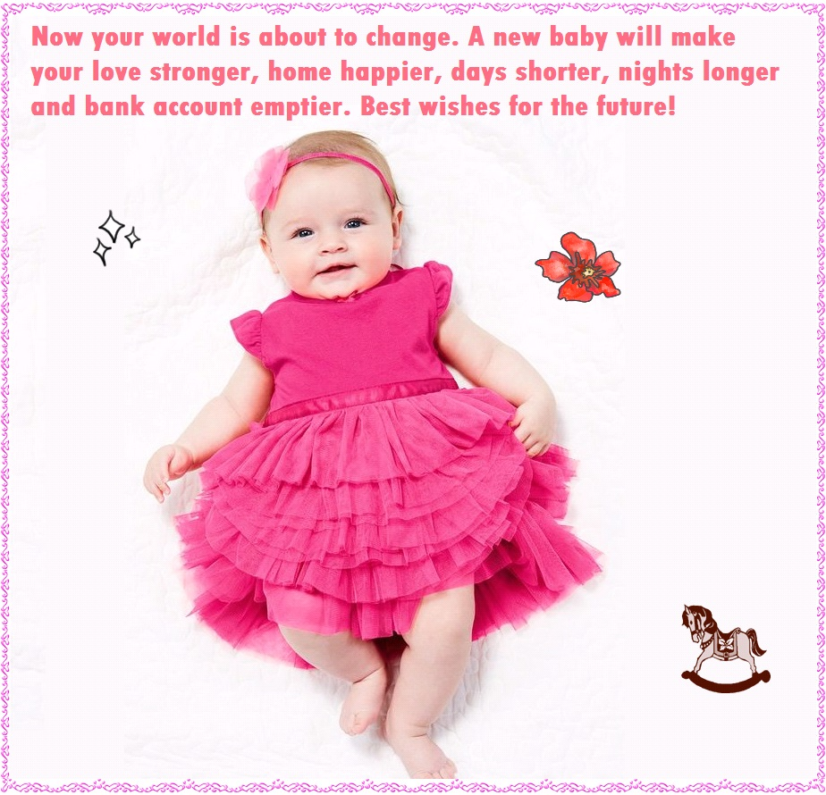 Quotes For A Baby Girl: Funny Congratulation Messages For New Baby