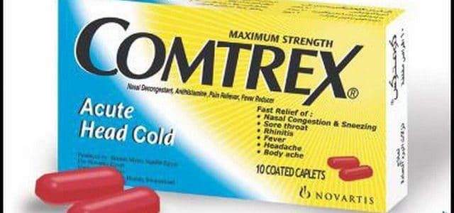دواعى إستعمال كومتركس Comtrex لعلاج نزلات البرد والأنفلونزا