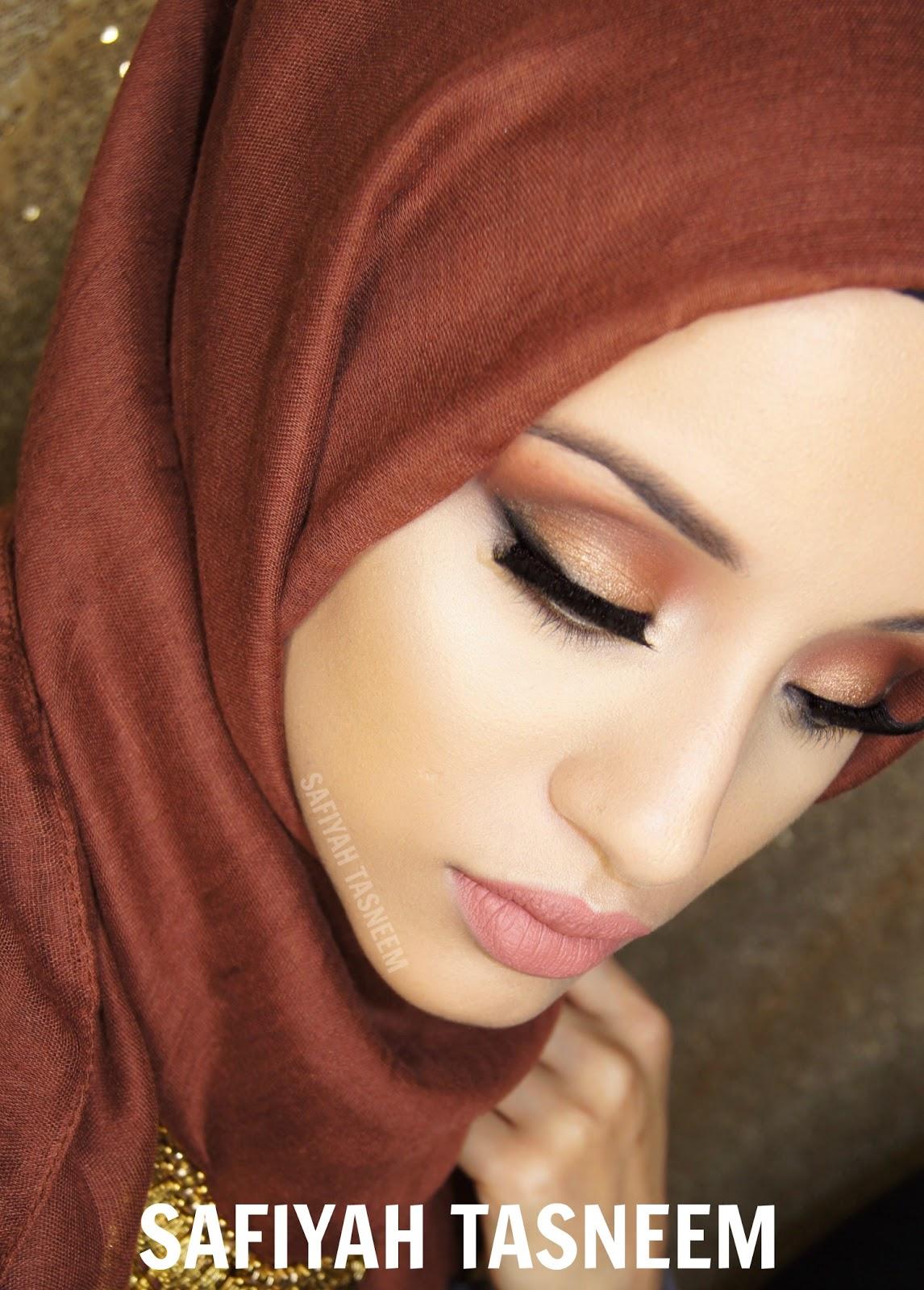 Safiyah Tasneem  Ff Naked Palette Brown-Gold Make Up Look-9294