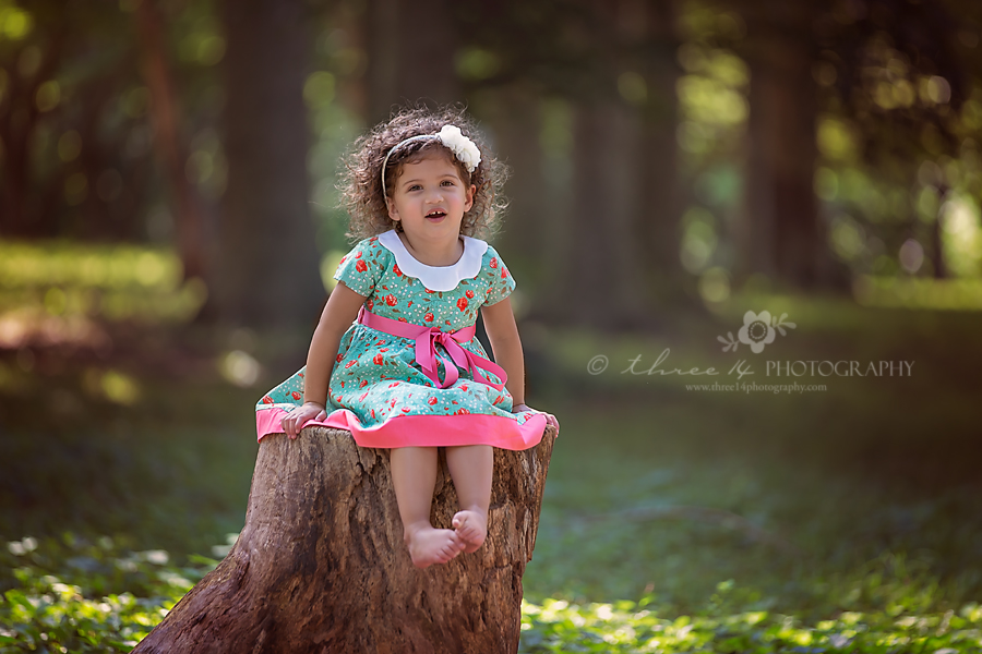 Styled Children Portrait