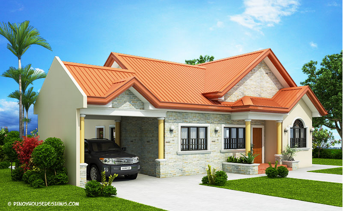 If you are looking for small design and style houses, then you will love our bungalow house plans. Bungalow house plans is one of the most famous houses found all over the world. This kind of house offers the ease of one level living with spacious design and affordability. Bungalow house plans offer the relaxation and comfort that you've always wanted for your family. Browse our selection of house plans to find your dream home today. Advertisements             DETAILS  Floor Plan Code: PHD-2017043  One Story House Designs  Beds: 3  Baths: 2  Floor Area: 124 sq.m.  Lot Size: 193 sq.m.  Garage: 1   ESTIMATED COST RANGE  Rough Finished Budget: 1,488,000 – 1,736,000  Semi Finished Budget: 1,984,000 – 2,232,000 Conservatively Finished Budget: 2,480,000 – 2,728,000  Elegantly Finished Budget: 2,976,000 – 3,472,000  CONTACT: Sponsored Links         DETAILS  Floor Plan Code: PHD-2017041  Bungalow House Designs  Beds: 3  Baths: 2  Floor Area: 90 Sq.m.  Lot Size: 244 Sq.m.  Garage: 1   ESTIMATED COST RANGE  Rough Finished Budget: 1,080,000 – 1,260,000  Semi Finished Budget: 1,440,000 – 1,620,000  Conservatively Finished Budget: 1,800,000 – 1,980,000  Elegantly Finished Budget: 2,160,000 – 2,520,000  CONTACT:  Advertisement         DETAILS  Floor Plan Code: PHD-2017032  One Story House Designs  Beds: 2  Baths: 1  Floor Area: 96 Sq.m.  Lot Size: 227 Sq.m.  Garage: 1   ESTIMATED COST RANGE  Rough Finished Budget:  1,152,000 – 1,344,000  Semi Finished Budget:  1,536,000 – 1,728,000  Conservatively Finished Budget:  1,920,000 – 2,112,000  Elegantly Finished Budget:  2,304,000 – 2,688,000  CONTACT:  SOURCE: pinoy house designs  SEE MORE: