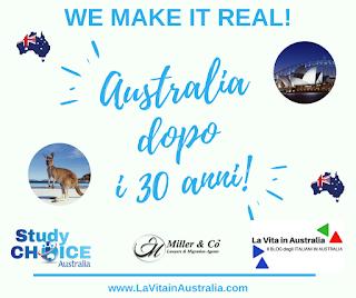 Australia dopo i 30 anni