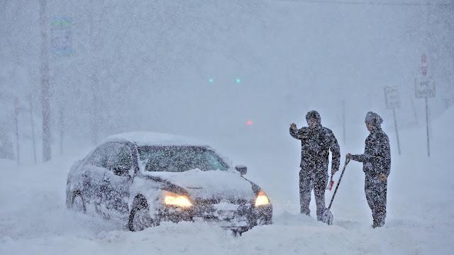 Αρναούτογλου: Ιστορική χιονοκακοκαιρία τη Δευτέρα - Μεγάλη πτώση της θερμοκρασίας (βίντεο)