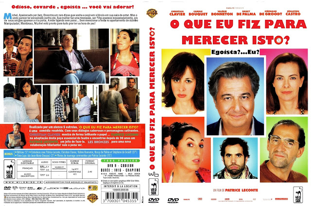 Capa DVD O Que Eu Fiz Para Merecer Isto?