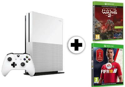 Xbox One S 1 TB + 2 juegos