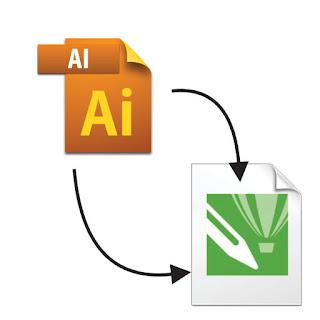 Cara Membuka File AI ( Adobe Ilustrator ) dengan CorelDRAW