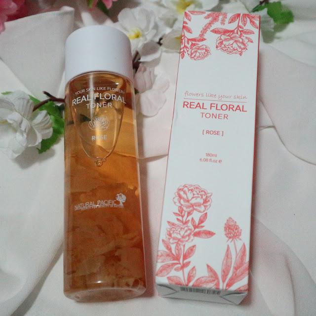 Natural Pacific Real Floral Toner Rose