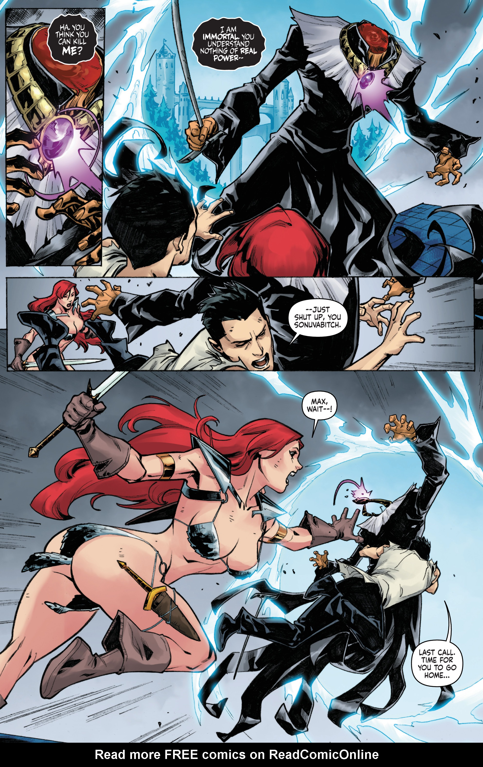 Read online Red Sonja Vol. 4 comic -  Issue #6 - 23
