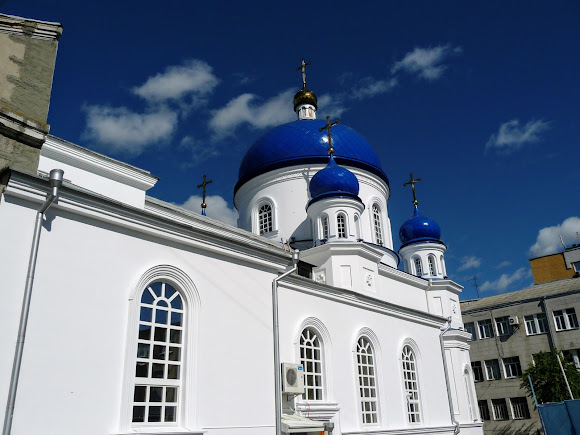 Житомир. Свято-Михайлівська церква. 1856 р.