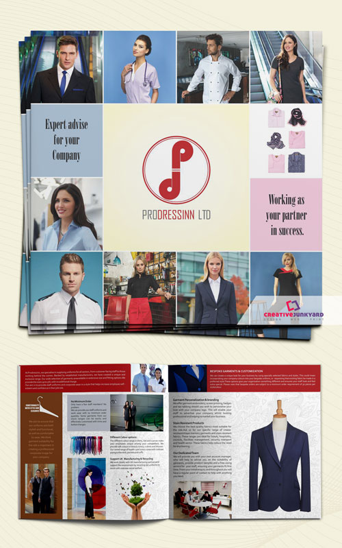 Clothing Brochure Design