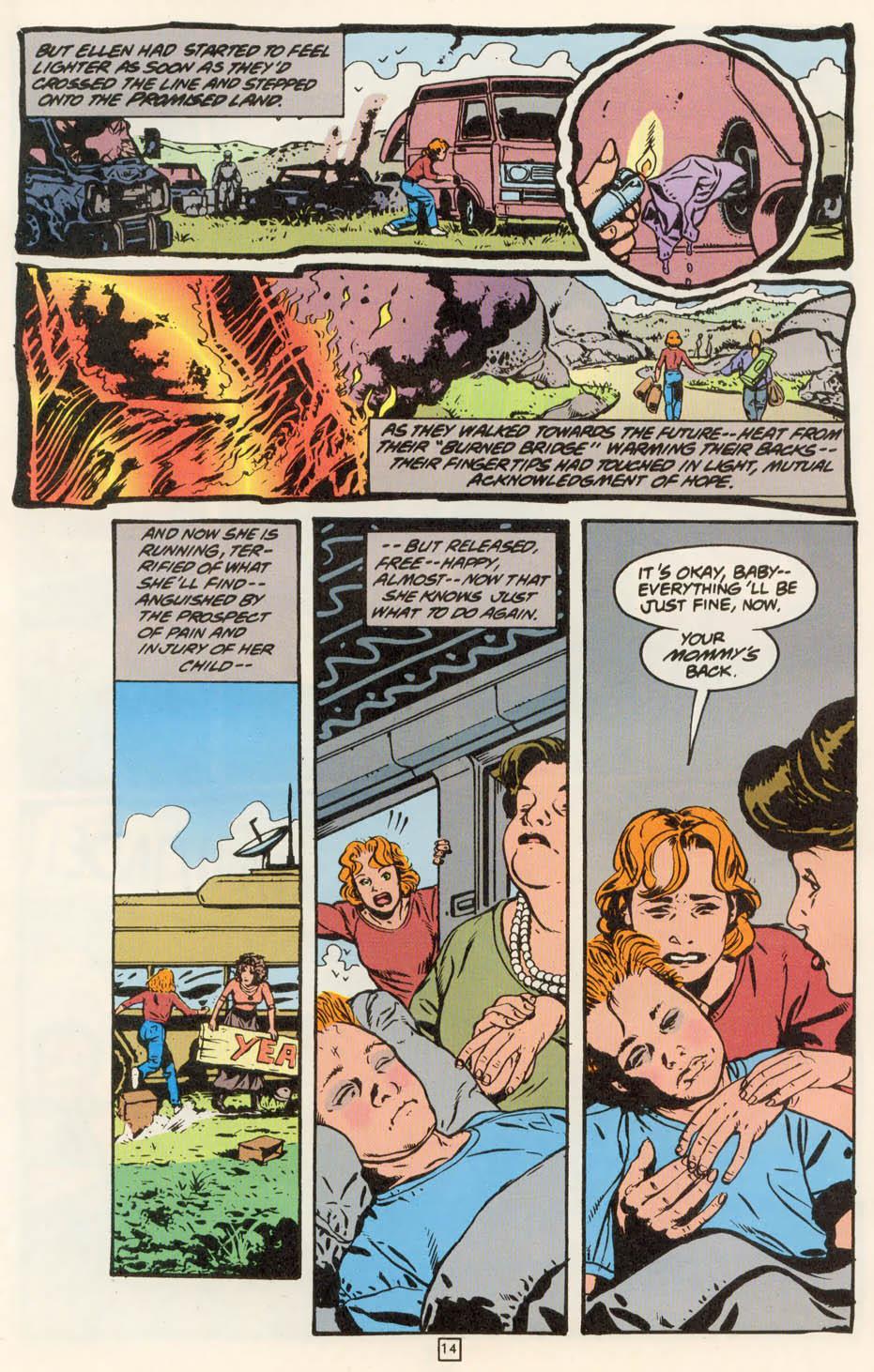 Read online Animal Man (1988) comic -  Issue #78 - 15