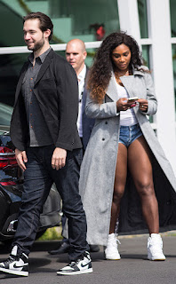 Serena Williams Steps Out With F!ance Alexis Ohanian