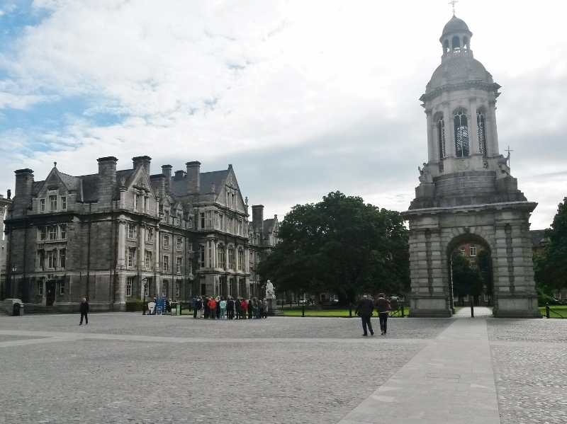 Trinity College Dublin, Tour of Ireland Photo Diary