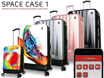 Space Case 1 Smart Suitcase