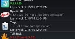 ApkTrack 2.1, in automatico ti permette di aggiornare le app/apk sul tuo Android anche se non presenti sul Google Play.