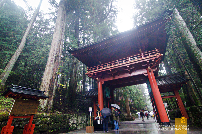 Nikko Temple Run Futarasan Shrine Torii