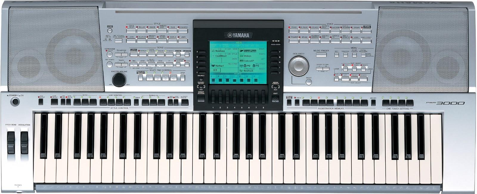 Yamaha Keyboards 2017