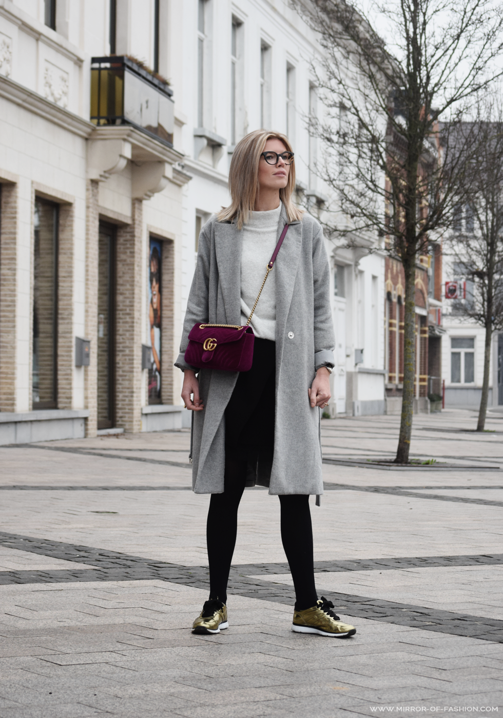 Outfit of the day, Hogan, Falke, Dutchess, Yerse, Gucci, Maje, Fendi, Dewolf, ootd, outfit, style, fashion, blogger