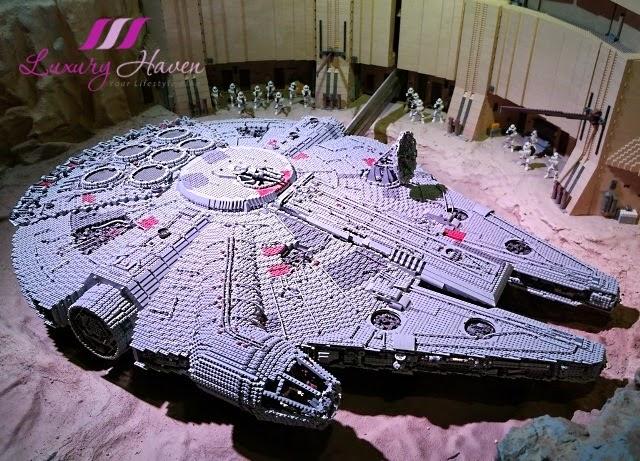 lego star wars miniland tatooine desert planet