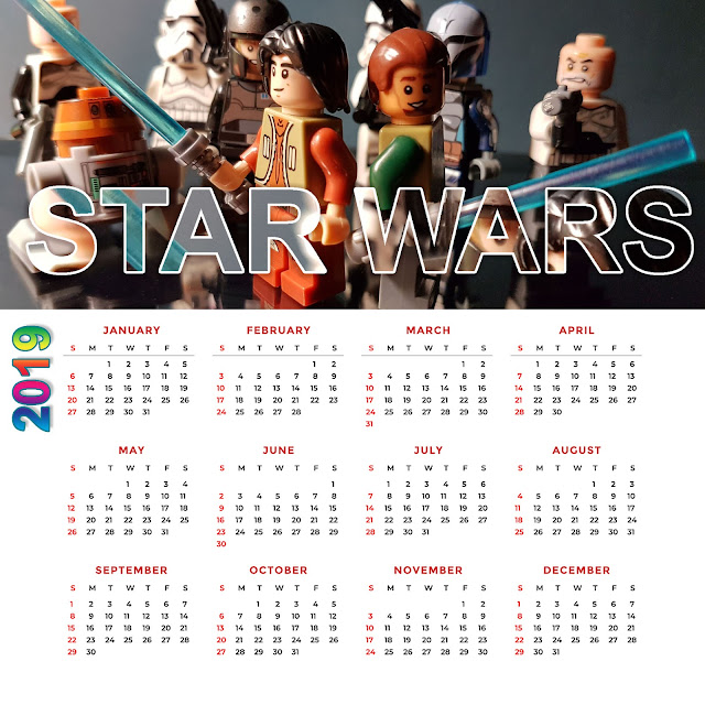 Star Wars Rebels Calendar 2019