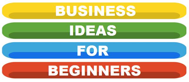 business ideas for beginners logo banner