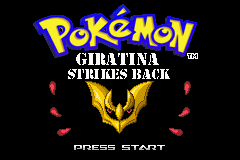 pokemon giratina strikes back cover