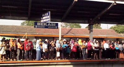 Inilah Harga Tiket Bekasi ke Jakarta Pakai Kereta Jauh