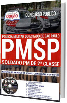 Apostila Concurso Policia Militar SP 2018 Soldado PM