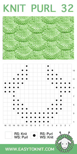 Knit-Purl Pattern