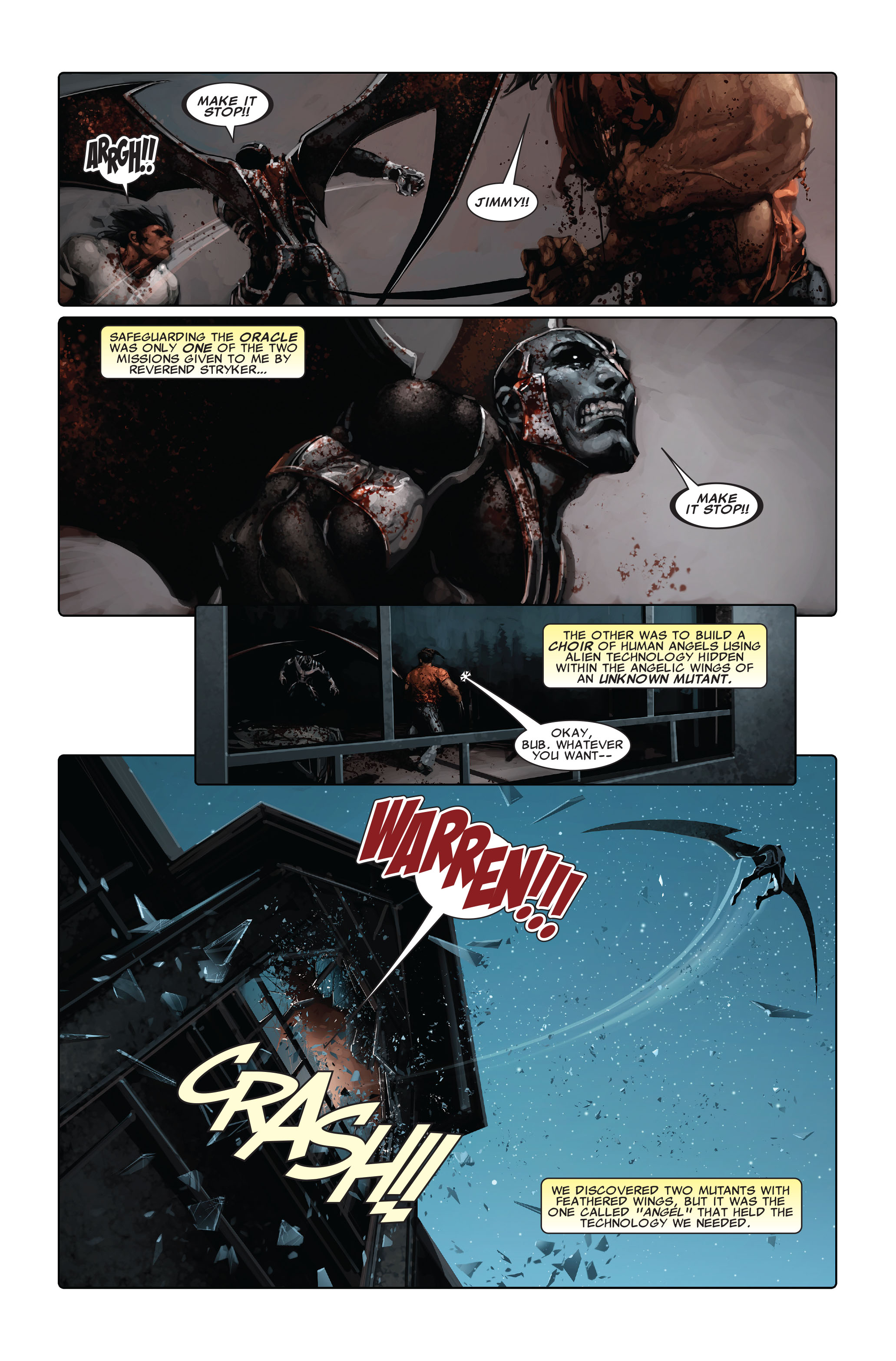 Read online X-Force (2008) comic -  Issue #5 - 5