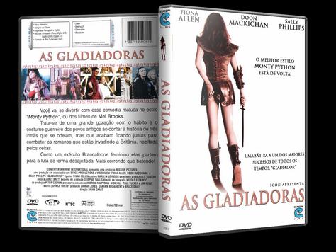 Capa DVD As Gladiadoras