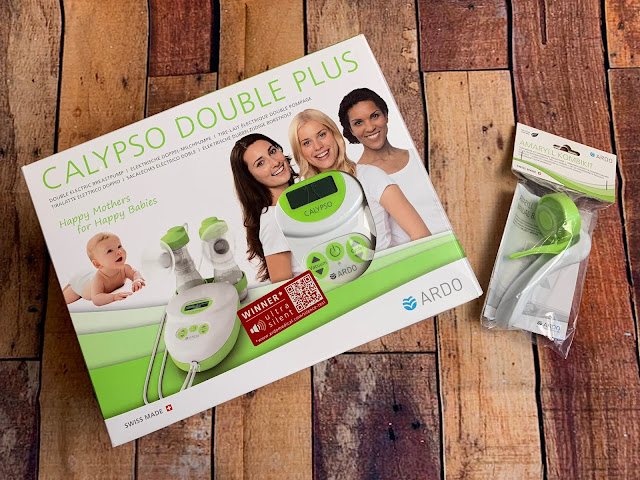 An electric breast pump which can be helpful to establish a milk supply post birth