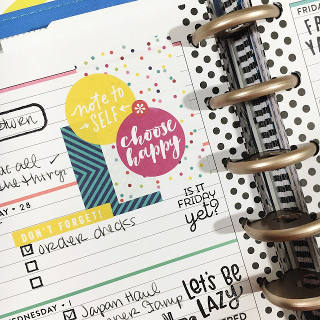 Inspirational Planner Stickers