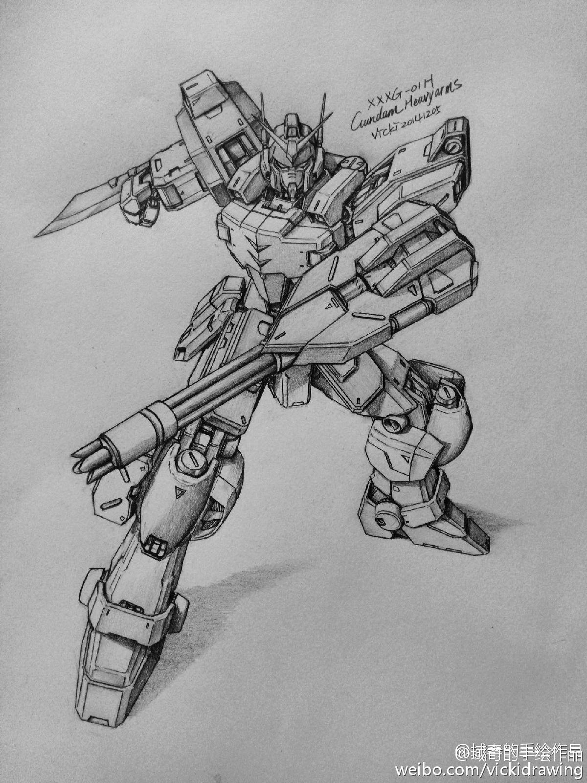 GUNDAM GUY: Awesome Gundam Sketches by VickiDrawing ...