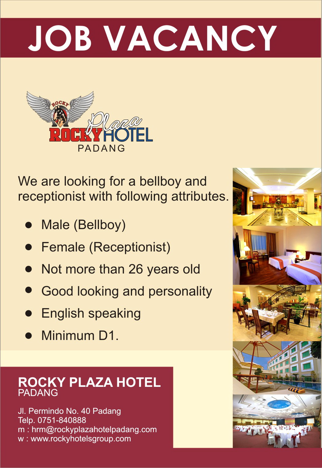 job+vacancy-rocky Job Adver Example And Application Letter on