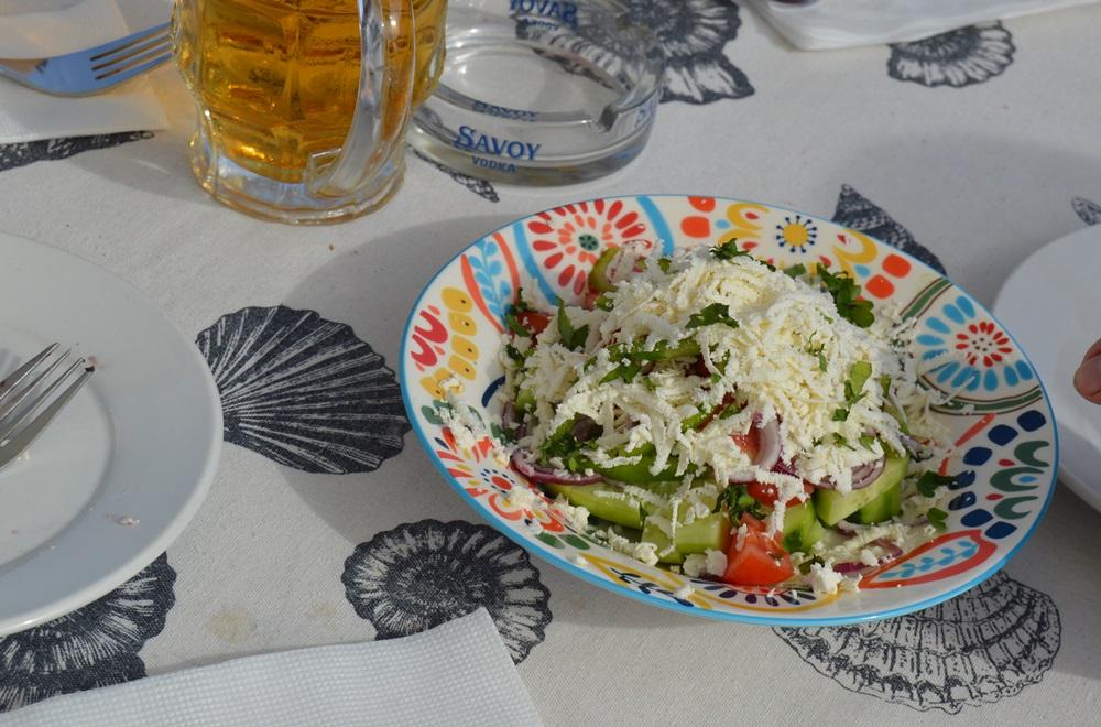 Nessebar (Bułgaria) sałatka szopska