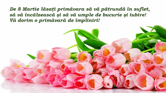 felicitare cu 8 martie