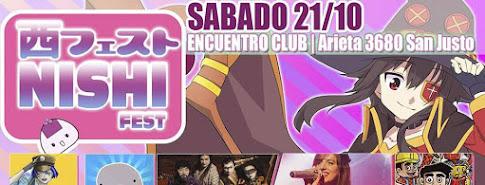 Nishi Fest Octubre 2017 en San Justo!!!