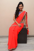 tejaswini sizzling photos in saree-thumbnail-10