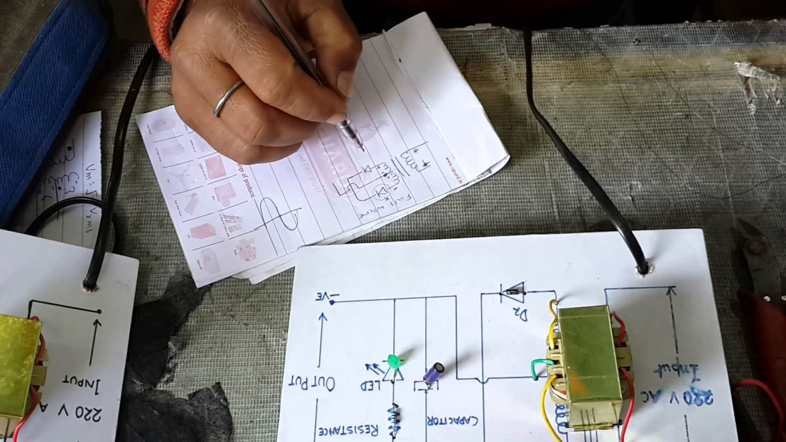 Half Wave Rectifier Circuit Working Analysis And Characteristics Diode Wiring Diagram For A Simple Is Nothing More Than Single Pn Junction Connected In Series To The Load Resistor If You Look At Above