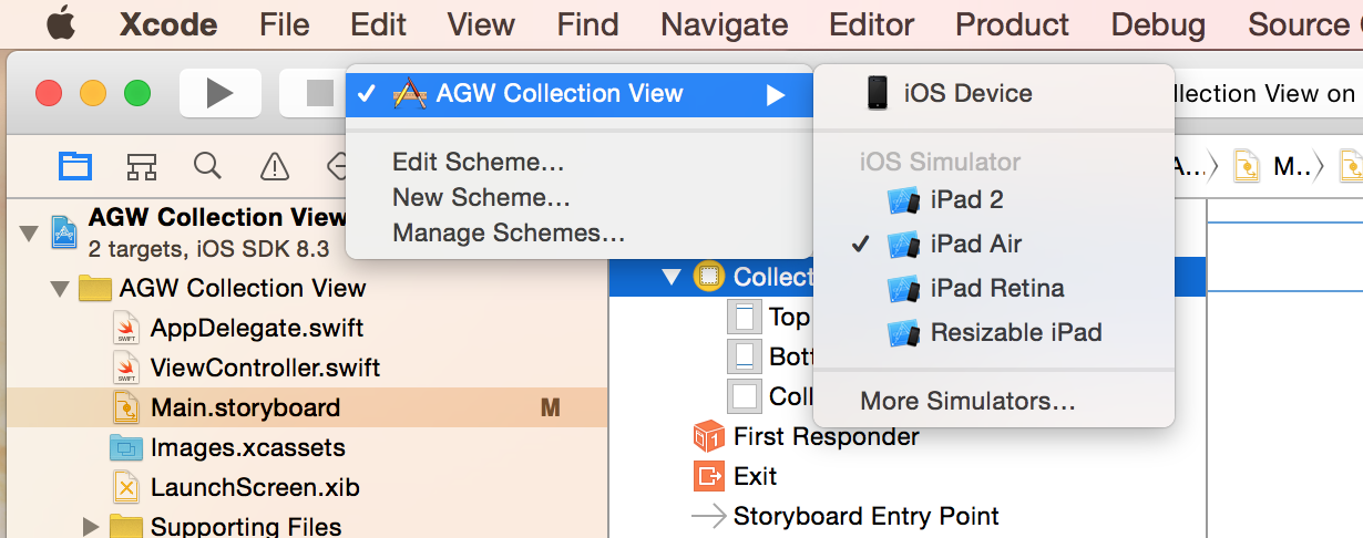aGupieWare: Tutorial: A Simple iOS Collection View in Swift