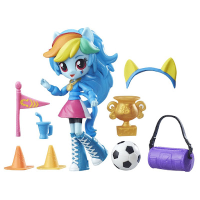 Equestria Girls Mini Rainbow Dash Pep Rally Set