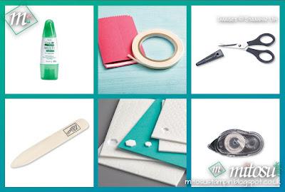 Stampin' Up! Basic Craft Kit Order from Mitosu Crafts' Online Shop